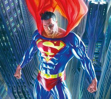 Alex Ross as Superman.