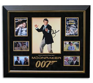 Moonraker signed picture.