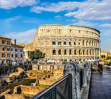 Rome and the Colosseum