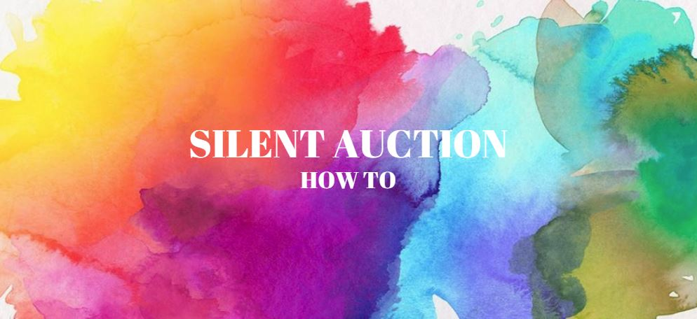 silent auction how to.